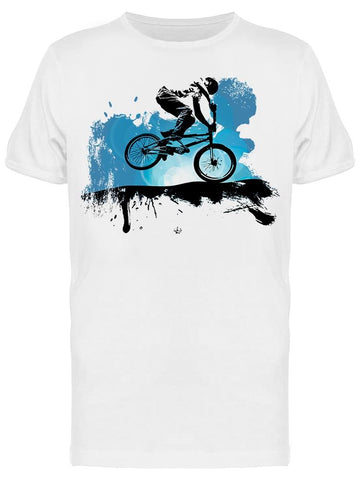A Bicycle Rider, Shadow Tee Men's -Image by Shutterstock