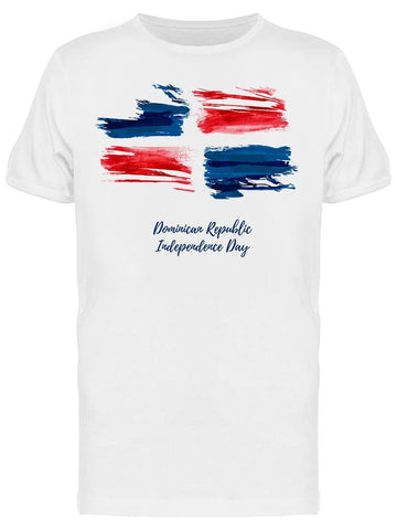 Abstract Dominican Independence Tee Men's -Image by Shutterstock