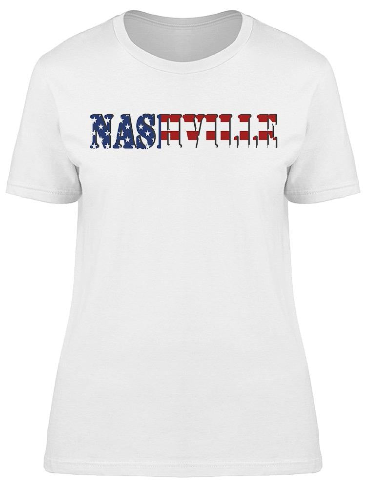 Nashville Usa Tee Women's -Image by Shutterstock