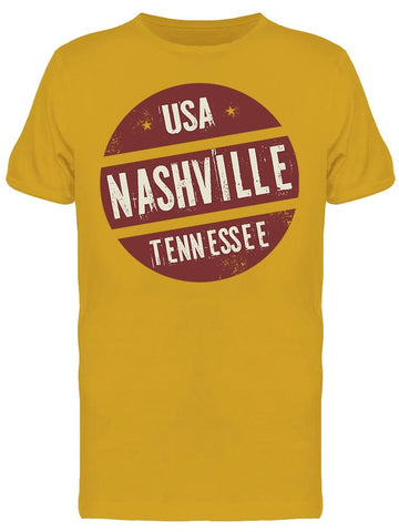 Usa Nashville Tennessee Tee Men's -Image by Shutterstock