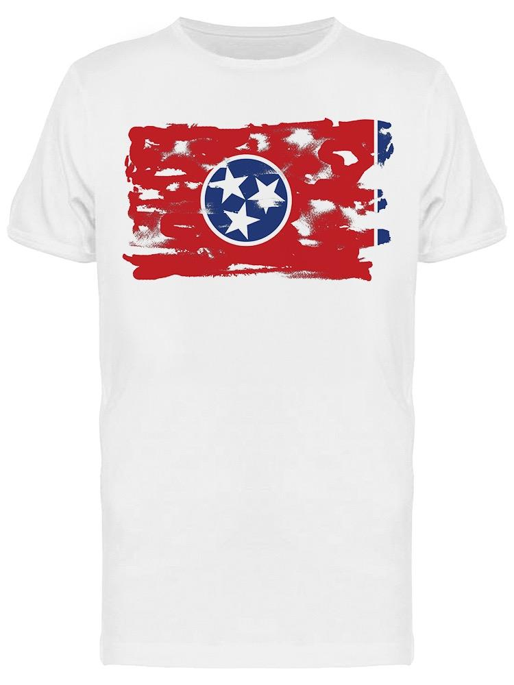 Flag Of Tennessee Graphic Tee Men's -Image by Shutterstock