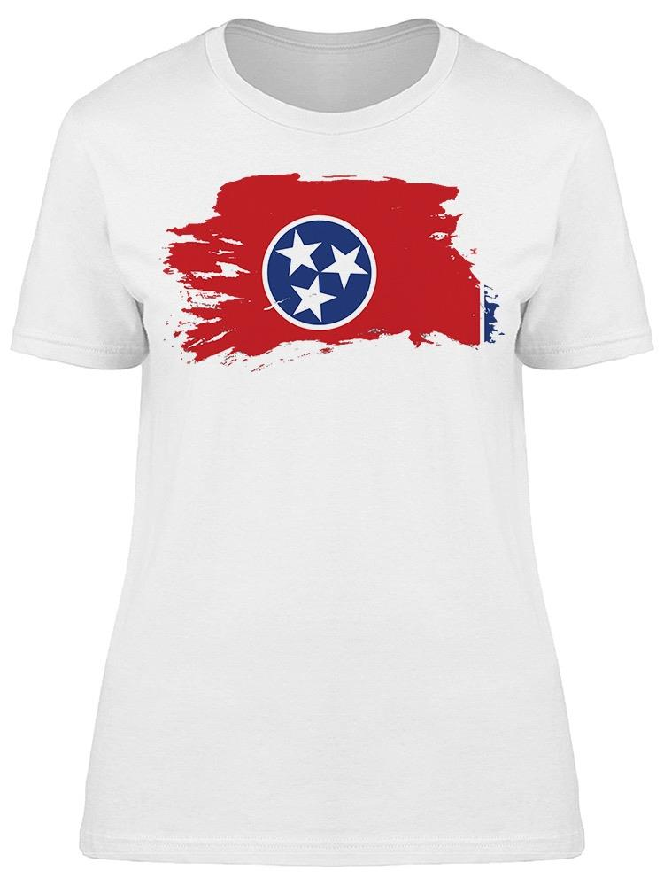 Art Flag Of Tennessee Tee Women's -Image by Shutterstock