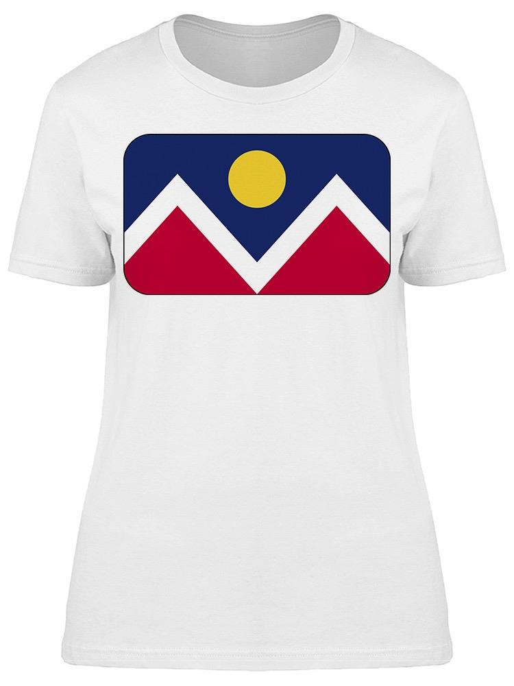 Denver City Flag  Tee Women's -Image by Shutterstock