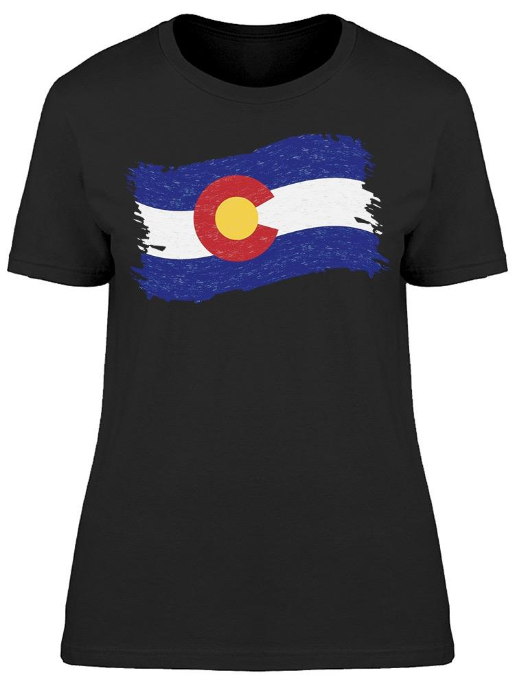 Colorado Flag Tee Women's -Image by Shutterstock
