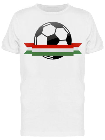 Hungary National Flag Football Tee Men's -Image by Shutterstock