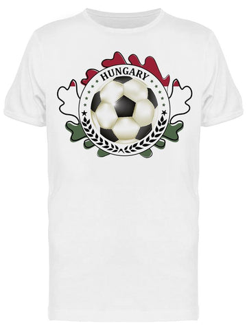 Hungary Football Tee Men's -Image by Shutterstock