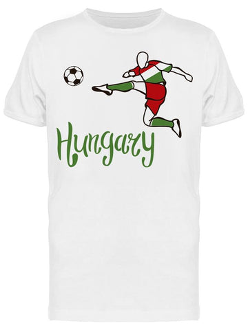 Hungary Football Team Tee Men's -Image by Shutterstock
