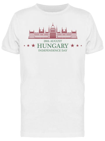 Independence Day Hungary Tee Men's -Image by Shutterstock