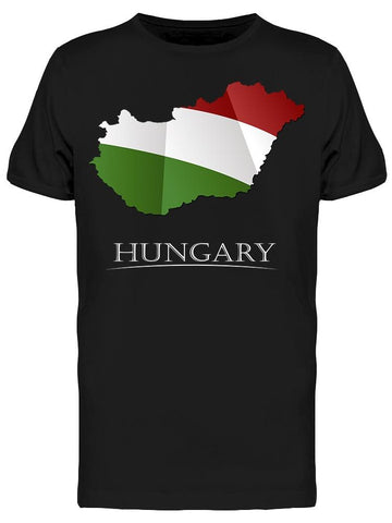 Map Hungary Tee Men's -Image by Shutterstock