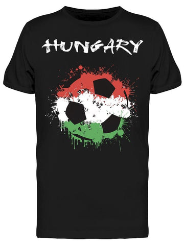 Abstract Footbal Hungary   Tee Men's -Image by Shutterstock