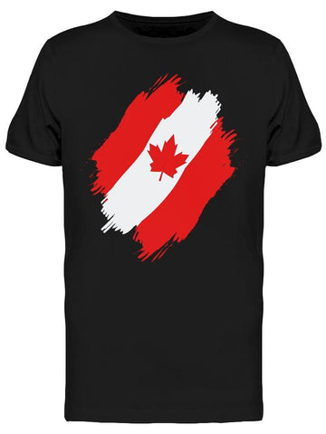 A Painted Canada Flag Tee Men's -Image by Shutterstock