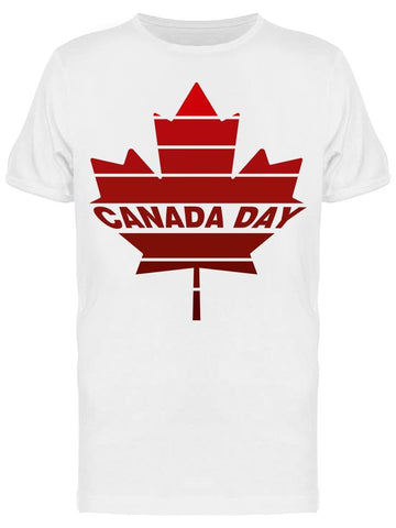 A Canada Day Maple Leaf Tee Men's -Image by Shutterstock