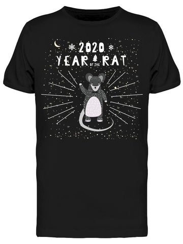 2020 Chinesse New Year  Tee Men's -Image by Shutterstock