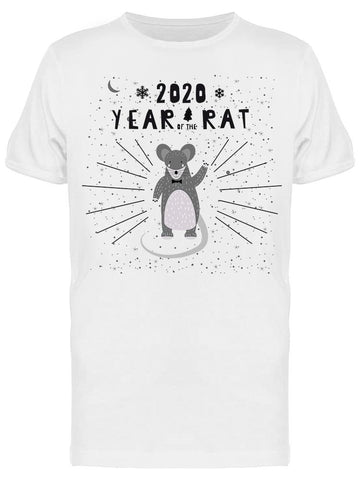 2020 Chinese New Year Rat Zodiac Tee Men's -Image by Shutterstock