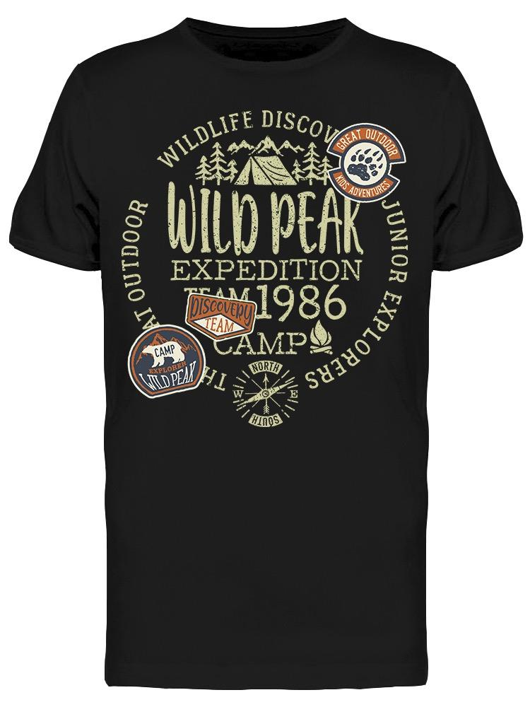 Wild Peak Expedition Graphic Tee Men's -Image by Shutterstock