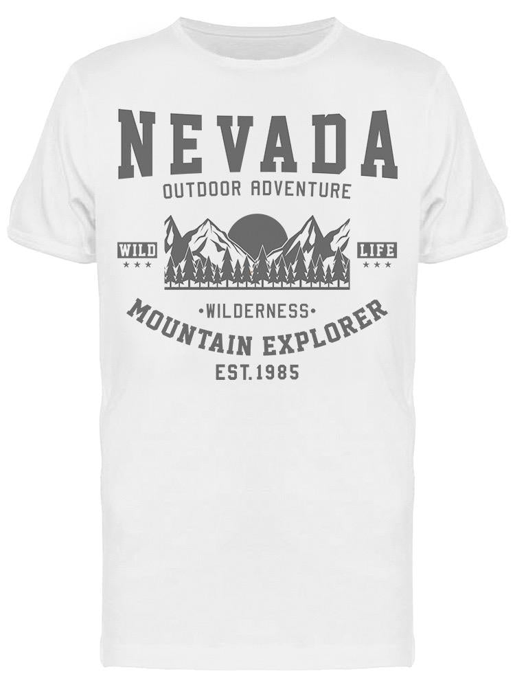 Nevada Adventure Mountain Tee Men's -Image by Shutterstock