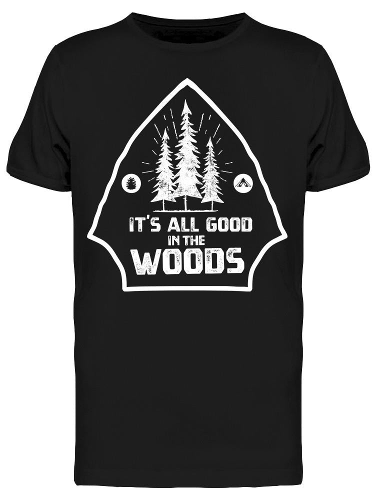 Vintage It's All Good In Woods Tee Men's -Image by Shutterstock
