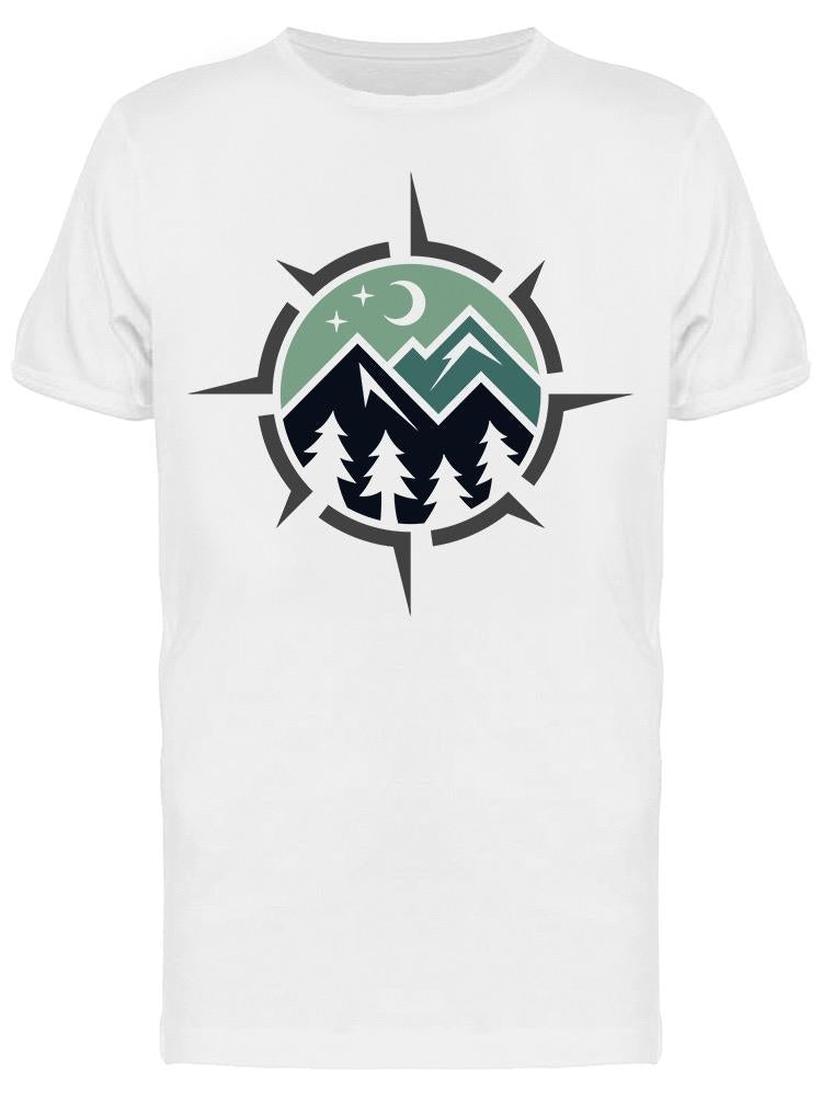 Mountains Forest Symbol Tee Men's -Image by Shutterstock