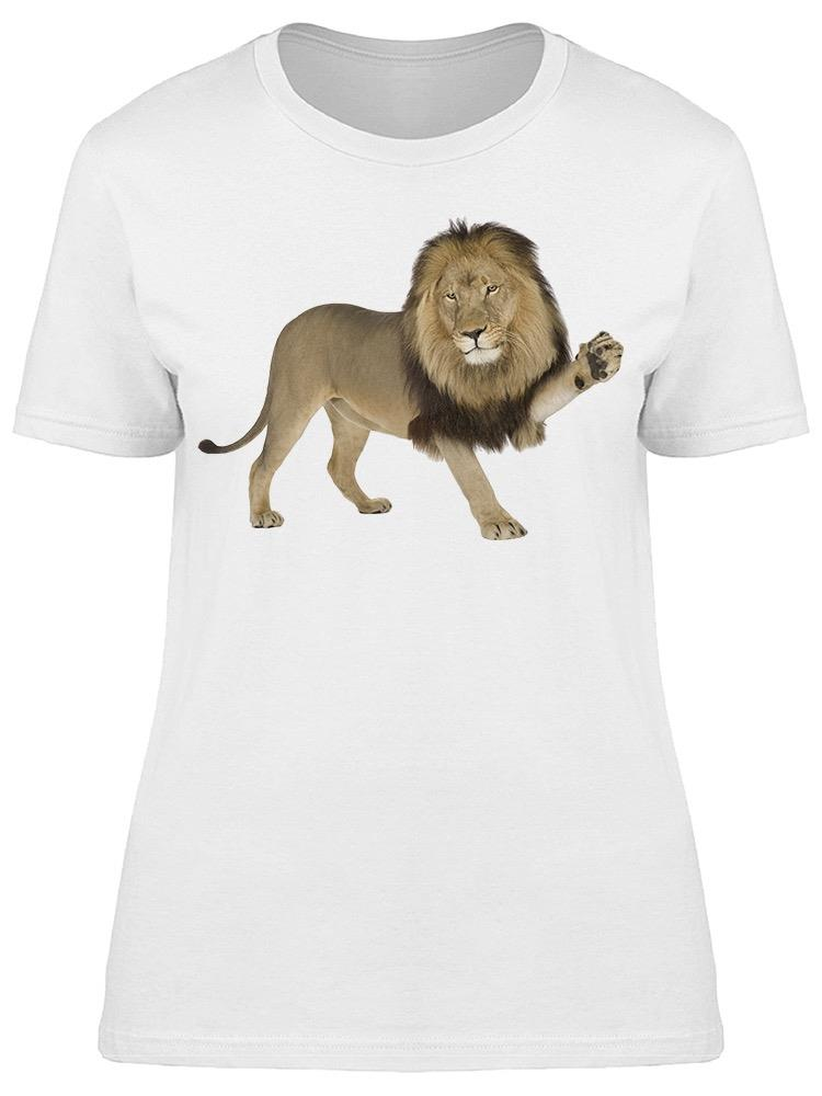Give Hi 5 To The Lion Tee Women's -Image by Shutterstock