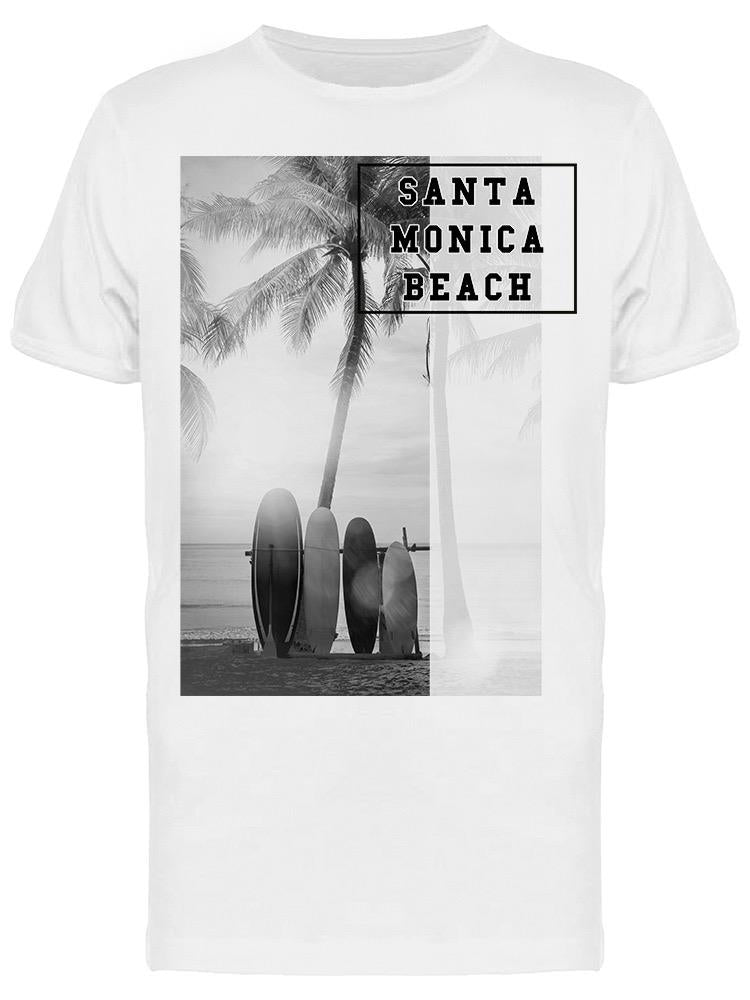 It's Sunny In Santa Monica Tee Men's -Image by Shutterstock