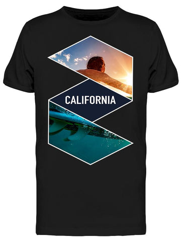 Board To The Sun Tee Men's -Image by Shutterstock