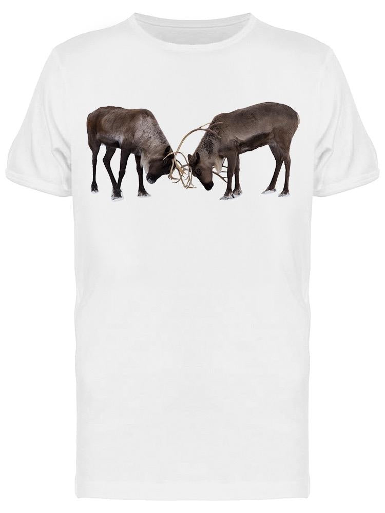 Brother And Sister Reindeers Tee Men's -Image by Shutterstock