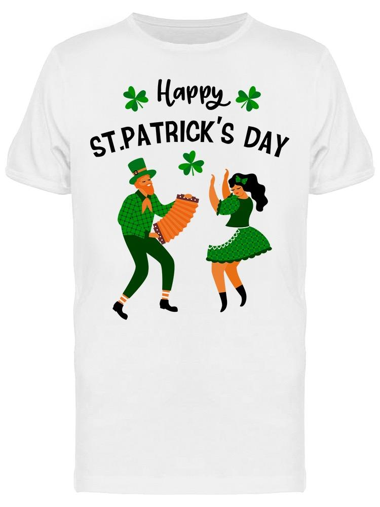 Is Saint Patrick's Day Tee Men's -Image by Shutterstock