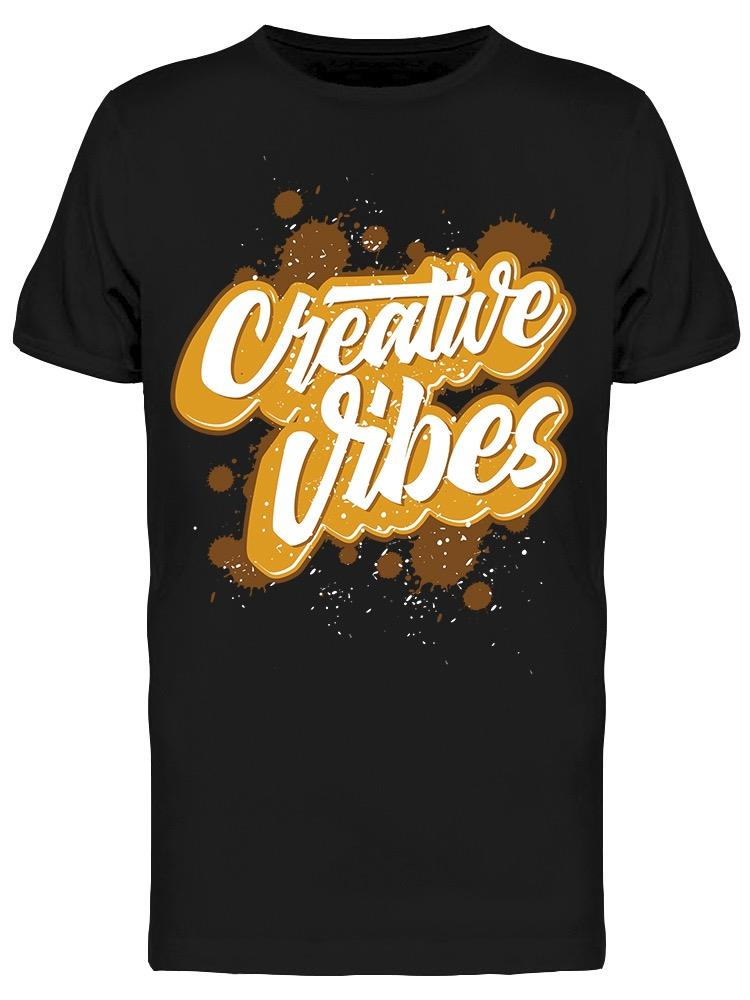 Creative Vibes   Tee Men's -Image by Shutterstock