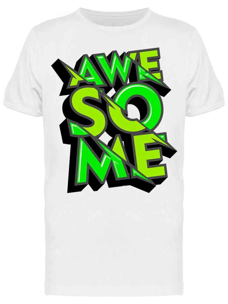Awesome  Design  Tee Men's -Image by Shutterstock