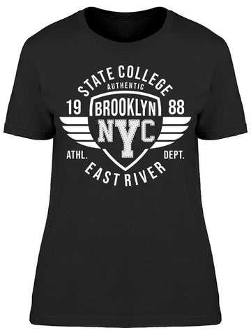 1988 State College Brooklyn Tee Women's -Image by Shutterstock
