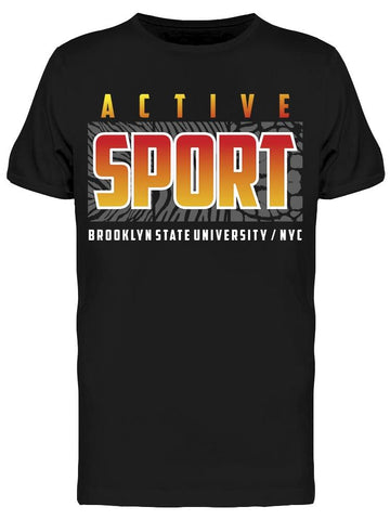 Active Sport Brooklyn State Tee Men's -Image by Shutterstock