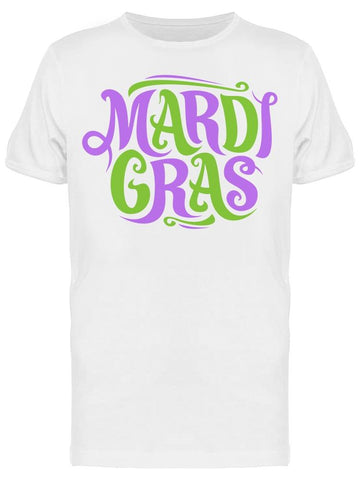 Mardi Gras Symbol In The Uper  Tee Men's -Image by Shutterstock