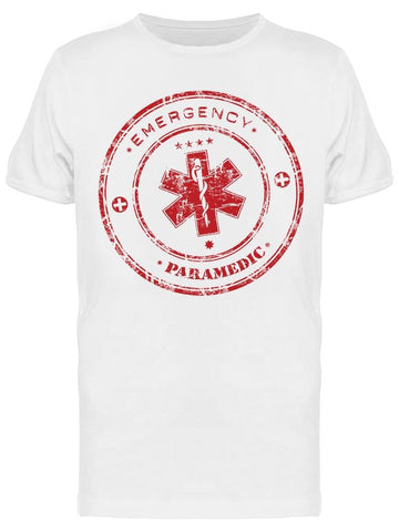 Emergency Paramedic In A Circle Tee Men's -Image by Shutterstock