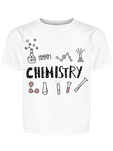 Chemistry  W/symbols  Tee Girl's -Image by Shutterstock