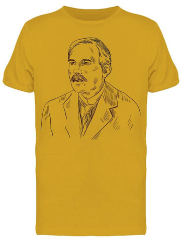 Ernest Rutherford Sketch Tee Men's -Image by Shutterstock