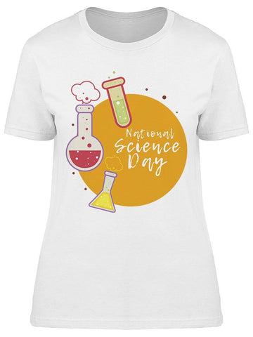 National Science Day In Circle Tee Women's -Image by Shutterstock