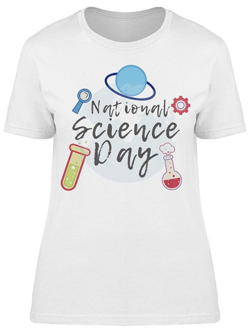 Science Day On The Center Tee Women's -Image by Shutterstock
