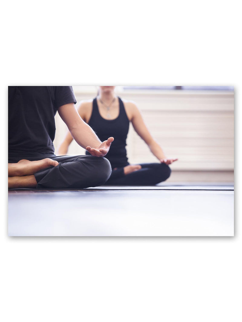 Yoga Group Meditating Poster -Image by Shutterstock