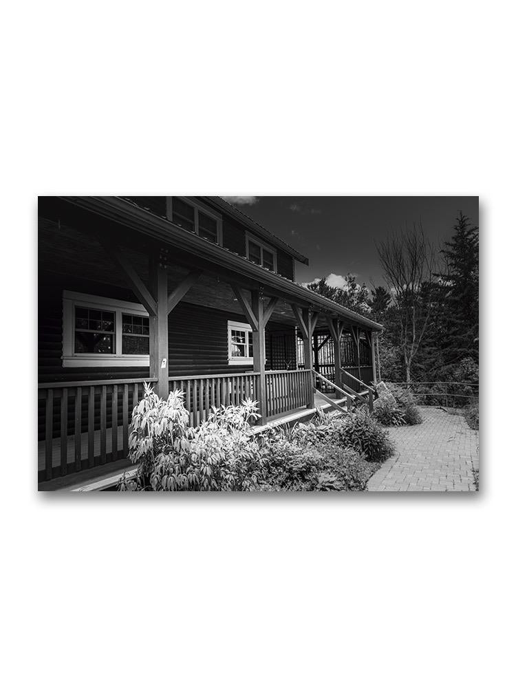 Wooden Deck Porch Poster -Image by Shutterstock