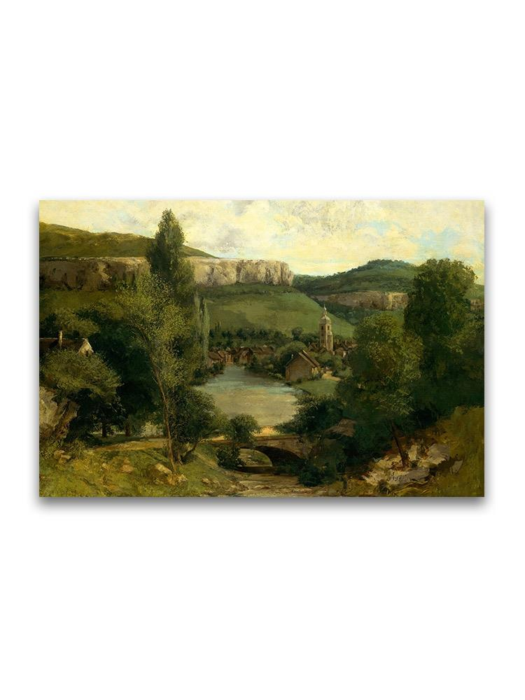 View Ornans Gustave Courbet Poster -Image by Shutterstock