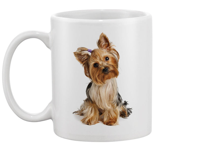 Puppy Yorkshire Terrier Mug -Image by Shutterstock