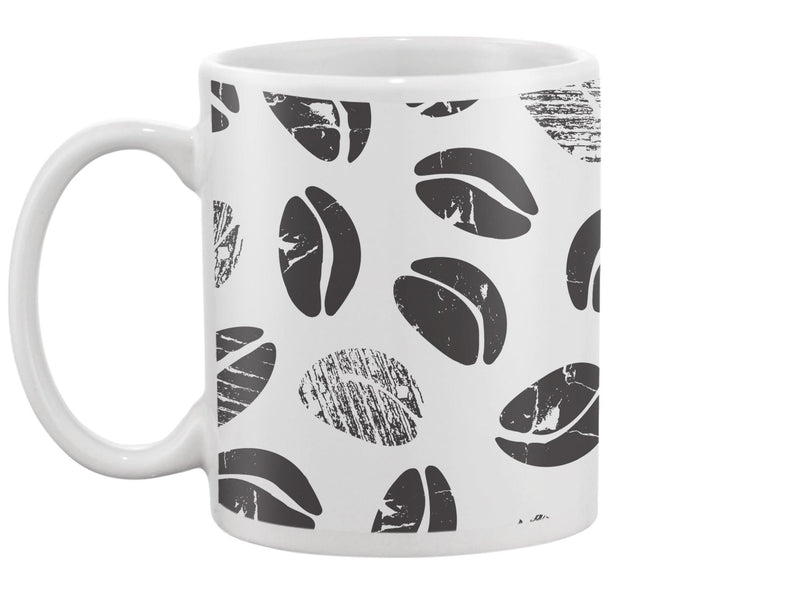 Abstract Coffee Beans Mug -Image by Shutterstock