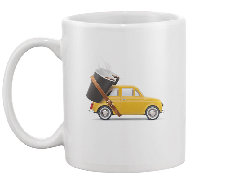 Paper Cups Of Coffee On Car Mug -Image by Shutterstock