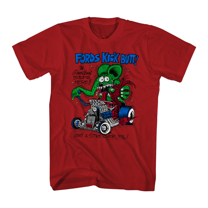Fords Kick Rat Fink Men's T-shirt