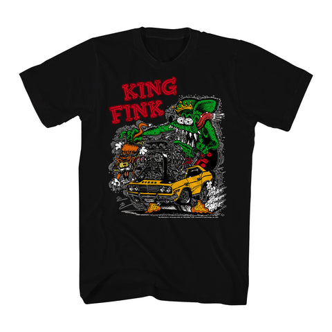 King Fink Rat Fink Monster Truck Men's T-shirt