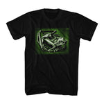 Artist M.C. Escher Green Frog Men's T-shirt