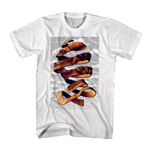 Artist M.C. Escher Face Rind Art Men's T-shirt