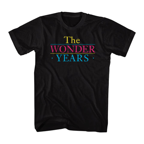 The Wonder Years Sitcom TV Logo Men's T-shirt