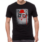 Grumpy Cat Defaced Grumpy Men's Black T-shirt