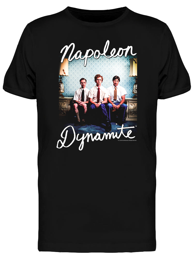 Napoleon Dynamite Cast Graphic Men's T-shirt